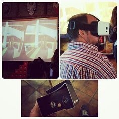 An awesome Virtual Reality pic! Virtual Reality - already some good cases on tourism market  #virtualreality #vr #cczk15 #castlecamp #etourism #onlinemarketing #oculusrift #googleglasses by mlengauer check us out: http://bit.ly/1KyLetq