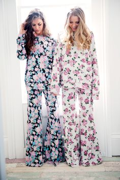 Show Me Your Mumu | Floral Pajama Set