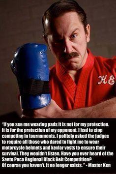 Enter the Dojo. The funniest martial arts web series. Master Ken himself.    MMA and martial arts humor  Mcdojo facebook page