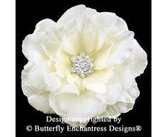 Starfire Rhinestone Ivory Audrina Bridal by ButterflyEnchantress, $49.99