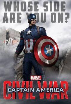Civil War Captain America #CaptainAmericaCivilWar