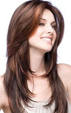 15 charming long straight hairstyles and haircuts. Haircut style for long straight hair. Straight hairstyles for medium hair. 2015 Hairstyles, Hairstyles For Round Faces, Straight Hairstyles, Cool Hairstyles, Layered Hairstyles, Brunette Hairstyles, Layered Haircuts For Medium Hair Round Face, Long Layered Hair With Side Bangs, Everyday Hairstyles