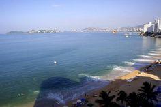 Acapulco-bugten ved Stillehavet