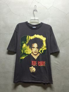 vintage t shirt 90s The Cure Shirt vintage Cure by imtryingtofocus