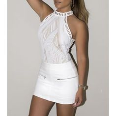 Sierra Lace Bodysuit - Sailor and Saint - Online Clothing Boutique