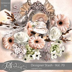 Designer Stash Vol. 70 - CU by Feli Designs