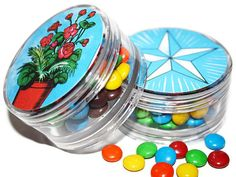 Mexican Loteria Wedding Party Favors Clear Giftbox by MyMercado