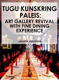 Historical and elegant destination in Jakarta Jakarta, Fine Dining, Art Gallery, Posts, Elegant, Blog, Classy, Art Museum, Messages
