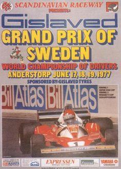 1977 GP de Suecia en Anderstorp