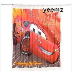 1000 images about shower curtains on pinterest shower for Race car shower curtain
