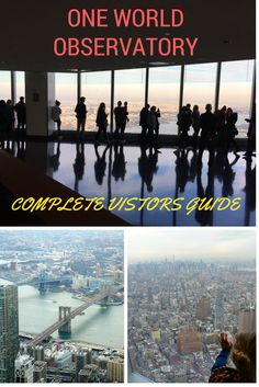 One World Observatory: Complete Visitors Guide is a guide to visiting the top of One World Trade Center in New York City. Complete with beautiful views, an entertaining elevator ride and mini pre-show, it's a great attraction to visit with the whole family.