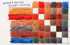 Image result for how to use winsor and newton desert watercolor