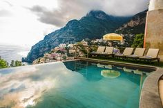 All the house is full of terraces, garden with a spectacular view on the beach of Positano. We offer also two persons for the services and one butler.