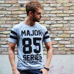 Major T-shirt €17,99 http://mymenfashion.com/major-85-t-shirt.html