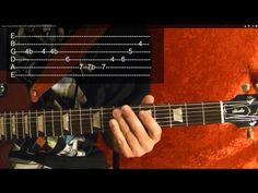 ▶ QUEEN - BOHEMIAN RHAPSODY Solo - How to Play - Free Online Guitar Lessons With Tabs - YouTube
