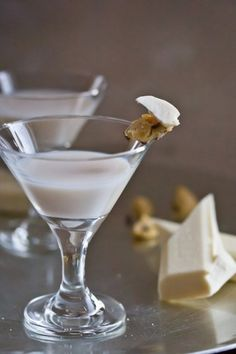 WAIT...WHAT? COOKIE DOUGH VODKA?!?! Does this exist?? AND..why haven't I heard of it before?? White Chocolate Snickerdoodle Martini: 2 ounces RumChata 1 ounce White Chocolate Godiva Liquor 1/2 ounce cookie dough vodka Combine ingredients into a cocktail shaker filled halfway with ice. Strain and serve into a chilled martini glass. CHEERS!