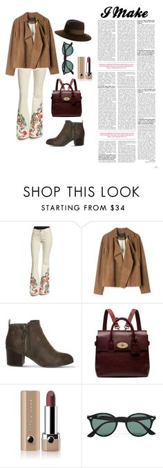 """I Make Part 2"" by yolandaoktaviani on Polyvore featuring Alice + Olivia, Office, Mulberry, Marc Jacobs, Ray-Ban and Maison Michel"