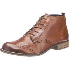 Diese remonte Stiefeletten punkten mit Obermaterial aus echtem Leder, das mit einem dekorativen Stanzmuster versehen ist. Der Schnürverschluss wird durch einen Reißverschluss auf der inneren Seite des Schuhs ergänzt und kann so schnell an- und ausgezogen werden.<br /> <br /> - mit Zugschlaufe<br /> - Schafthöhe in Gr. 37: ca. 8 cm <br /> - Schaftweite in Gr. 37: ca. 27 cm<br /> - verstärkte Vorderkappe und Fersenpartie<br /> - ...