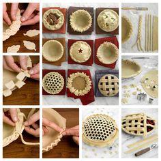 Wonderful DIY Decorative Pie Crusts