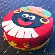 Zwarte piet taart