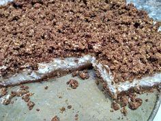Strúhaný tvarohový koláč takmer bez cukru Thing 1, How To Dry Basil, Herbs, Healthy Recipes, Candy, Chocolate, Sweet, Food, Healthy Food Recipes