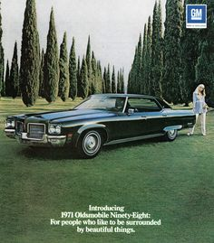 1971 Oldsmobile Ninety-Eight Sedan