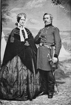 Willis Gorman and wife Martha Stone Gorman, ca. 1861. | In the Swan's Shadow