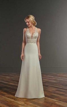 Charli + Somer Romantic Glam Wedding Dress Separates by Martina Liana