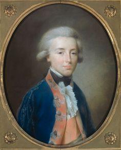 Tischbein, Johann Friedrich August: Willem Frederik (1772-1843), prins van Oranje-Nassau. Oudste zoon van prins Willem V, later Willem I, koning der Nederlanden. 1788.