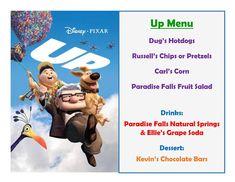 Disney Meal #5 - Up