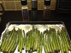 Amazing Asparagus! It is in season and easy to prepare!