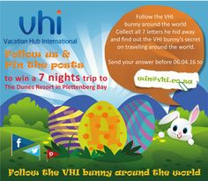 Easter 2016 - Win a 7 nights stay for 2 people at The Dunes Resorts - Your VHI Team