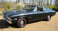 '68 Chevrolet Chevelle 300 327 L79 325horse 4bbl V8/M20 4sp/3.31 12bolt posi