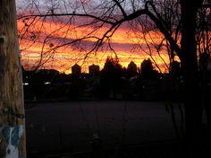 From my Yard Vancouver, Yard, Sky, Celestial, Sunset, Outdoor, Outdoors, Heaven, Garten