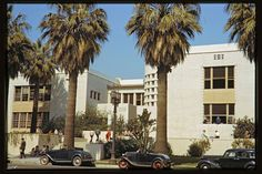 vintage everyday: 37 Fantastic Color Photos Capture Downtown of Los Angeles in the 1940s