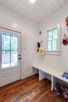 Mud room- Rustic Atlanta Farmhouse | Blake Shaw Homes | Atlanta, Athens, Custom Homes and Remodeling