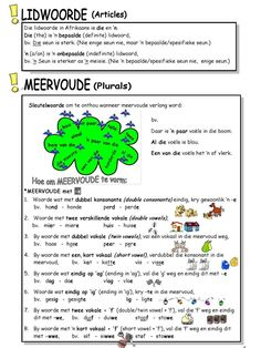 English Grammar Worksheets, School Worksheets, Teaching Aids, Teaching Resources, School Resources, Afrikaans Language, Phonics Song, First Grade Math, Grade 3