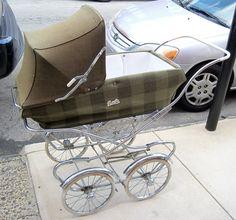 Nostalgische kinderwagen