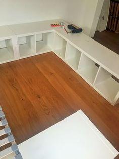 Diese Familienbett Bauanleitung Zeigt Ihnen, Wie Sie Sich Schnell Und  Einfach Aus Ein Paar Regalen