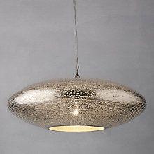 Buy Zenza Filisky Oval Pendant Ceiling Light Online at johnlewis.com