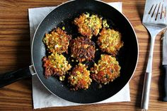 Corn Fritters with Cheddar and Scallions recipe on Food52