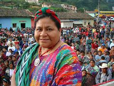 """awesomeshitwomendid: """" Won the Nobel Peace prize in fought to bring awareness of the genocide in Guatemala, and helped Guatemalans (especially indigenous Mayans) to defend themselves. Great Women, Amazing Women, Maya, Give Peace A Chance, You Go Girl, Nobel Peace Prize, Coral, Before Us, Women In History"""