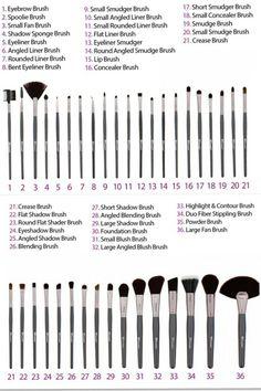 Bh cosmetics advanced brush set