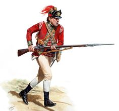 Don Troiani - British Light Infantryman of the 5th Regiment of Foot 1775-1776