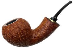Ernie Markle Sandblasted Large Bent Apple