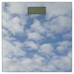#zazzle #Cloudy #Sky #Bathroom #Scale #home #office #gift #giftidea