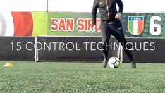 If you're a player looking to improve or a coach looking for new session ideas then take a look at these 15 control techniques ⚽️⚽️⚽️ Soccer Footwork Drills, Football Coaching Drills, Soccer Training Drills, Field Hockey Drills, Football Tricks, Football Workouts, Football Movies, Bbc Football, Football Videos