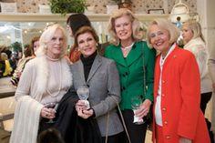 Candide Booth, Gail Worth, Faith Morford and Yolande DeBonvouloir