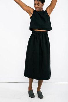 Elizabeth Suzann - Petra Crop in Black