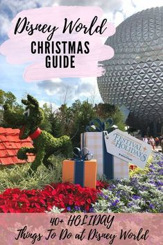 Check out this guide for over 40 Disney World Christmas experiences to check out over the holidays #disneyworld #florida #christmasfun Disney World Vacation Planning, Disney World Florida, Disney World Parks, Walt Disney World Vacations, Disney Planning, Disney Tips, Disney World Resorts, Trip Planning, Christmas Things To Do